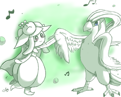 Pid and Lily Dance by CrazyIguana