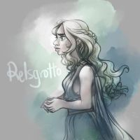 Game of Thrones: Daenerys by relsgrotto