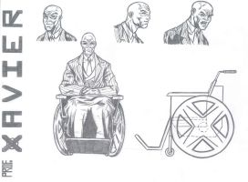Professor Xavier Final Design by kameleon84