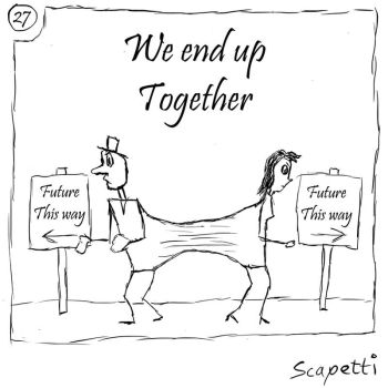 We End Up Together by Scapetti