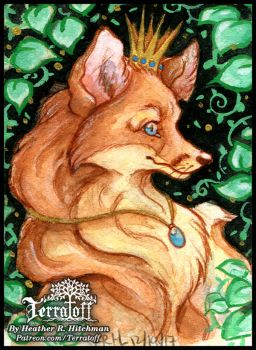 Kitsune Collection #7 Her Majesty by HeatherHitchman