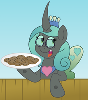 Evil Queen Chrysalis by SketchyMouse
