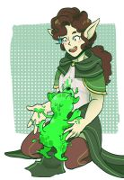 DnD - Slimy Pup by Nokiry
