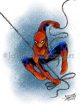 Spidey by JeremiahLambertArt