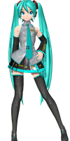 Project Diva Arcade Future Tone Default Miku by WeFede
