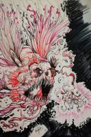 Psychedelic Abyssal Fish by ZetsuWido
