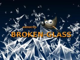 GIMP-Broken Glass-Brush by Chrisdesign