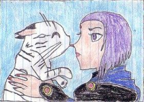 Raven and Tiger by AngelicDemo by teentitans