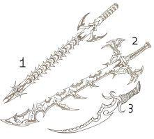 sword designs by ghostontheshell