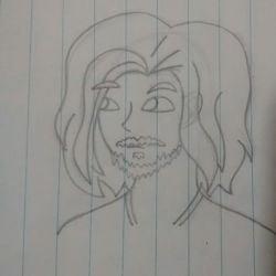 Arin Sketch #1 by wweM5girlLA