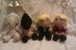 Silent Hill 2 Plush Set by AliceOfTheRose