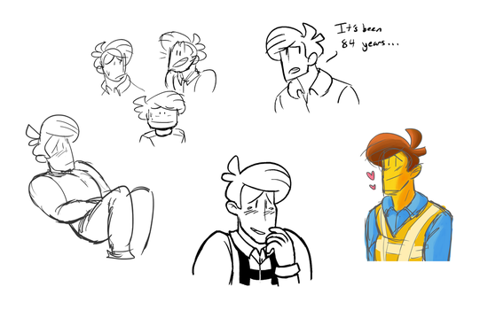 Emmet Sketches Oct 2015 To June 2016 by Jeminy3