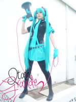Hatsune miku (eager love revenge version) by xeccentricity