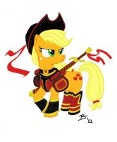 Applejack The Fighter by igotastewgoing