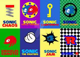 Sonic Game Cards Vol. 4 by Sonicguru