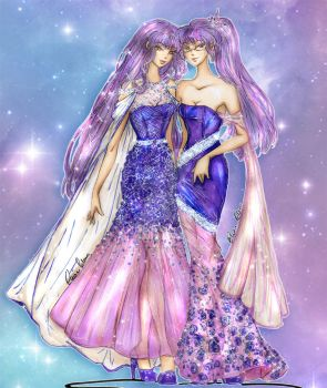 Ultraviolet - Haute Couture by Mellorine91
