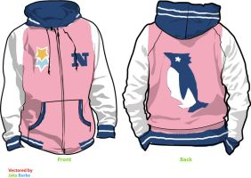 Nagasi Hazuki Fleece Hoodie - Swimming Anime FREE! by Weeaboo-Warehouse