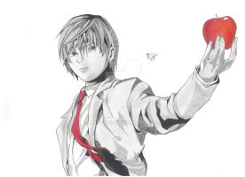 Light Yagami by MTEvans