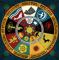ASoIaF - Nine Houses of Westeros by black-lupin