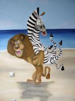 madagascar mural 3 by Theatricalarts