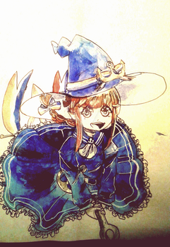 Wadanohara by AilenSol