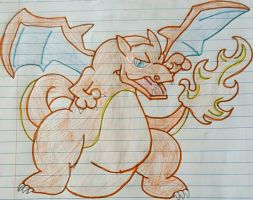 Charizard by xXPixelatedARTSXx