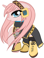 Megurine Luka Pony by 3u4ia