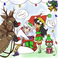 Christmas entry by SassiArt