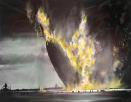 The Hindenburg Disaster by zulumike