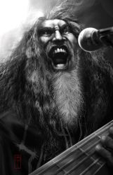 Tom Araya by mozggies