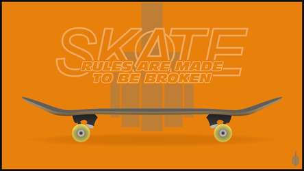 Skate | Rules are made to be broken by drouille