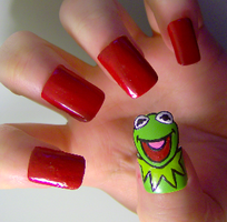 Kermit the Frog by KayleighOC