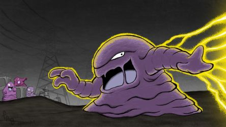 Muk Used Thunderbolt by fab-wpg