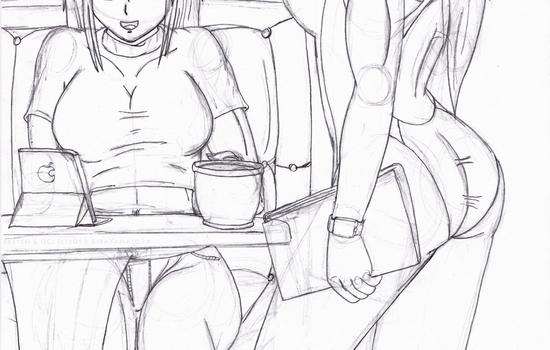 Take Your Order With a Side of Challenge WIP by KiraYamato74