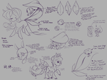 Dewlets (CLOSED SPECIES) by NebulaNovia