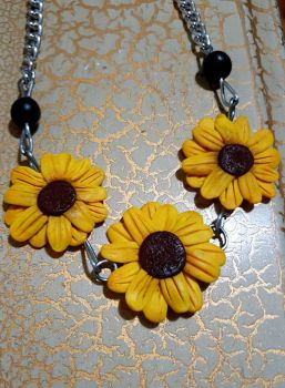 Collar de Girasoles by karenalexag