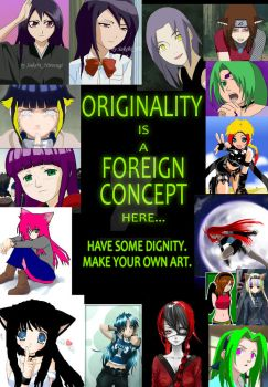 Originality is Foreign to You. by NagaharaYani