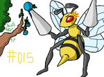 #015 Beedrill by SaintsSister47