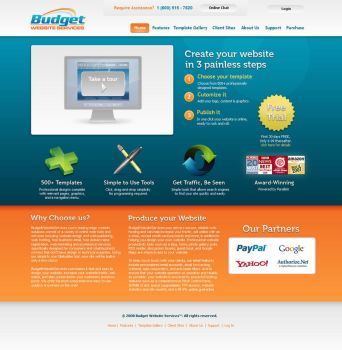Budget Website Services by Bollenbach