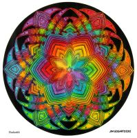 Mandala 40 - Collaboration by Mandala-Jim