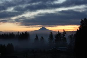 When the fog rolls in. by austinishardcore