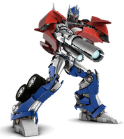 Transformers-prime Optimus Prime ready to fire by JefimusPrime