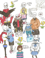 Undertale Dump by HellaFabDuck