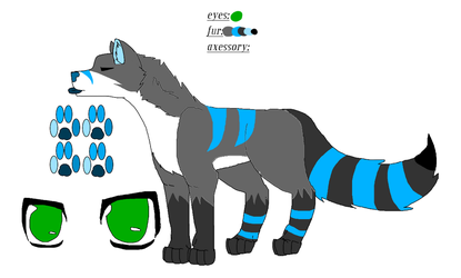 Custom Wolf For Fluffy40 by joey134