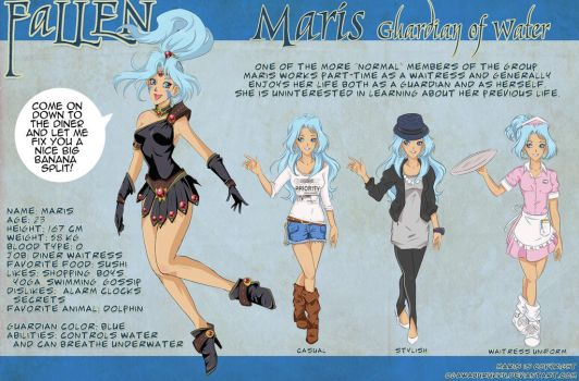 MARIS Character Design Sheet by OgawaBurukku