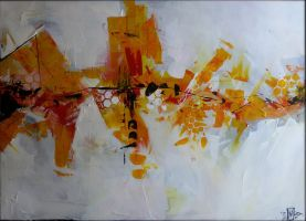 Abstract Painting - Defragmentation 1 by HaluzCZ
