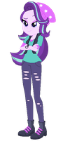 Starlight Glimmer EQG Vector by FlamePrincess3535
