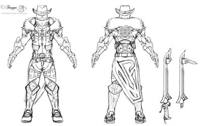 Attack on Titan OC WIP2: Outer armor concept by Shintenzu