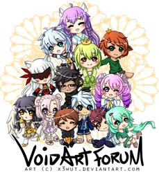 VoidEls Art Forum! by x3Wut