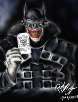 The Batman Who Laughs ( 2 update) by USmarine1992